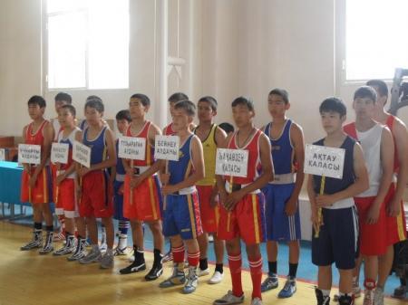 В Мунайлинском районе  прошла школьная спартакиада по боксу