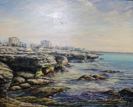 В Актау открылась выставка картин «Творческая пристань»