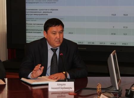 Завершено расследование уголовного дела в отношении первого заместителя Акима Мангистауской области Амангельды Айткулова