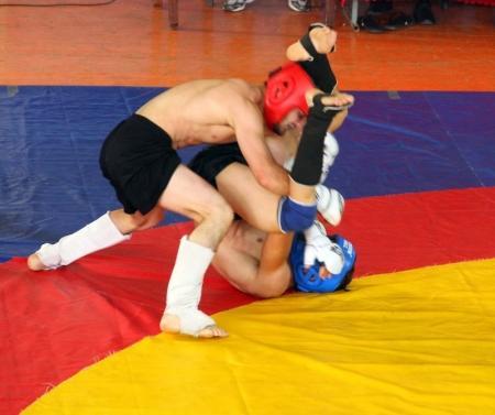 В Актау впервые прошел чемпионат Мангистауской области по боям без правил