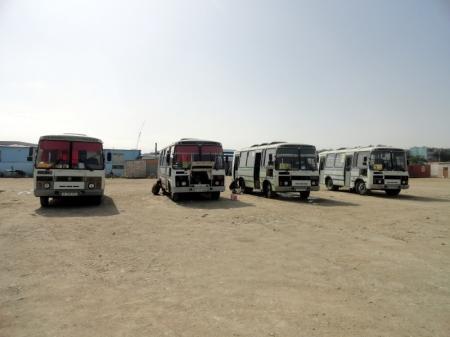 Из-за дефицита газа в Актау автобусы по маршрутам № 3, 4, 5 ходят с перебоями