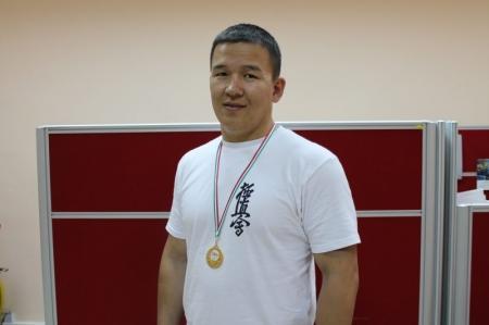 Мангистауские спортсмены приняли участие в чемпионате Европы по киокушинкай каратэ