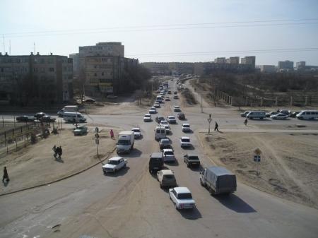 В Актау столкнулись четыре автомашины «Оpel»