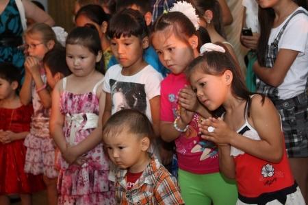Актау празднует День защиты детей