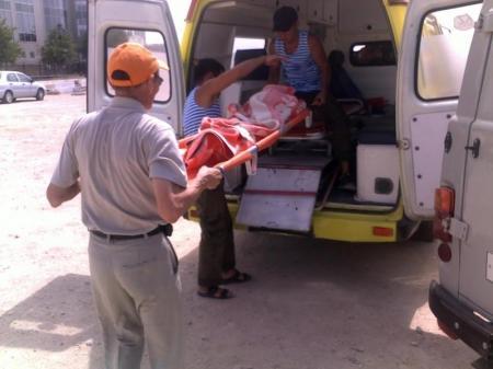 В Актау спасли 12-летнего мальчика (добавлены фотографии)