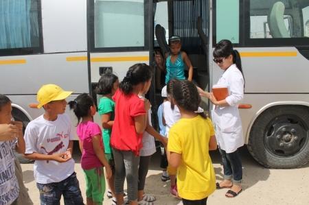 Спасатели Актау организовали экскурсию для детей