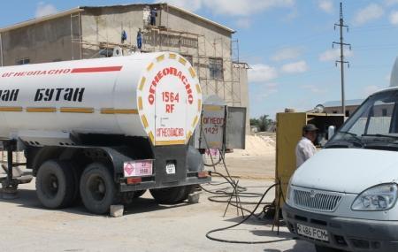 Акимат Мангистауской области:  На данный момент цены на газ составляют от 30 до 35 тенге за литр