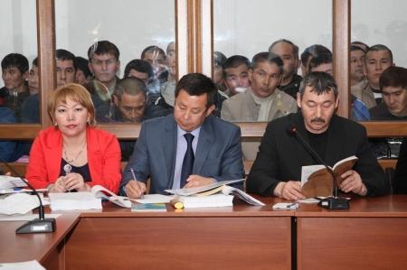В Актау началось оглашение приговора по делу о беспорядках в Жанаозене