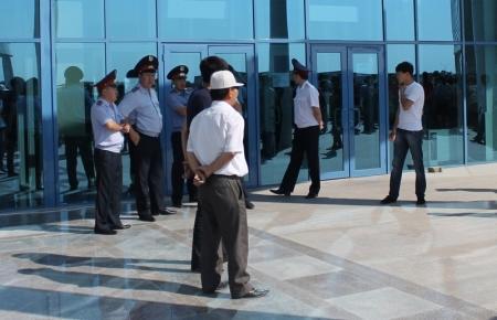 В Актау празднуют двадцатилетие государственных символов Казахстана