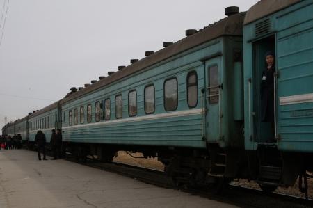 Поездом из Актау
