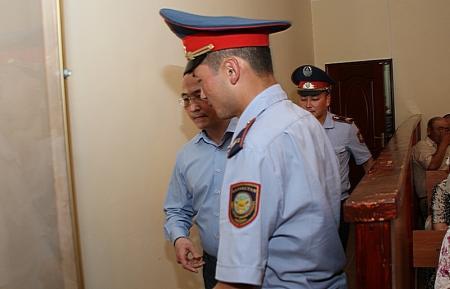 Приговор бывшему акиму Жанаозена Ораку Сарбопееву отложен (ФОТО ВИДЕО)