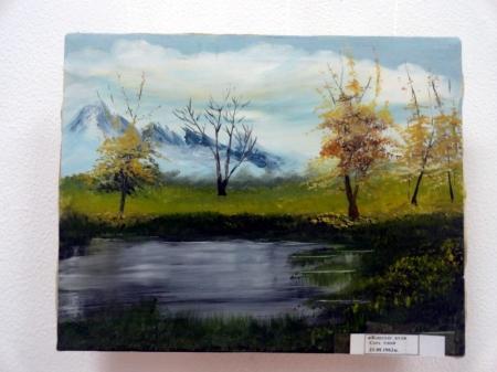 В Актау открылась персональная выставка художницы из Ирана