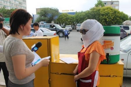 В Актау при проверке торговых точек продавцы бросали свои прилавки