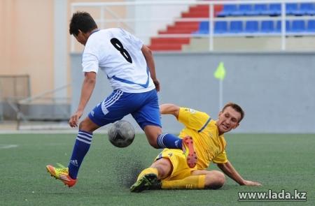 Футболисты «Каспия» переиграли команду из Темиртау