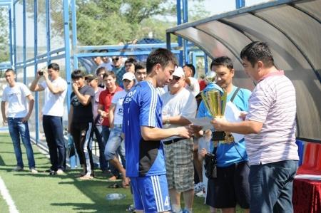 Завершилось первенство города Актау по футболу 6х6