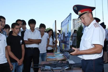 ДВД по Мангистауской области провел День открытых дверей