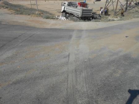 Два человека погибли на дороге в Актау