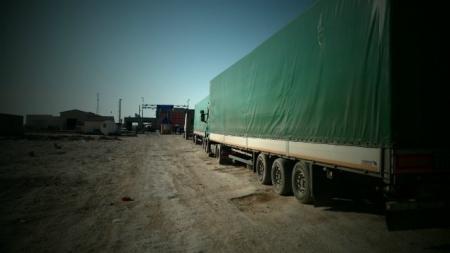 На границе Мангистау — Узбекистан застряло 230 единиц автотранспорта