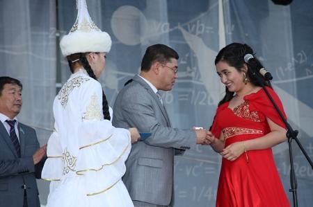 В Актау со школой простились 1490 выпускников