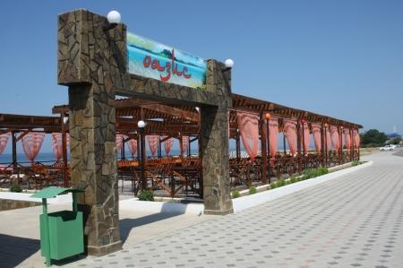 Работы на набережной в 14 микрорайоне Актау завершены на 90% (Фото)