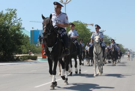 Мангистауская полиция отметила свой 20-летний юбилей