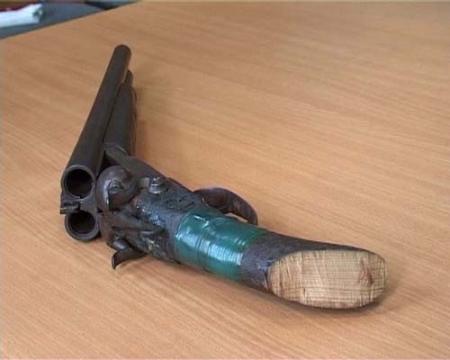 Сразу три обреза обнаружили полицейские у водителя из села Кызылтобе