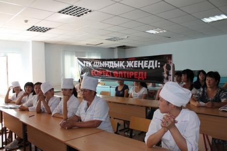 В актауском колледже «Мейрбике» обсудили методы борьбы с пропагандой наркотиков среди молодежи