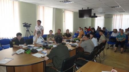 В ДЧС Мангистауской области завершился семинар с работниками кадровых служб