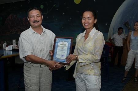 Девушки команды ДВД Мангистауской области заняли первое место в турнире по боулингу