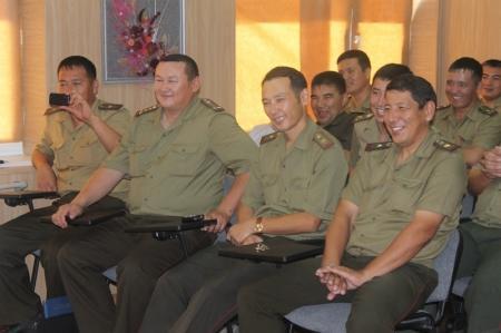 Дети поздравили пожарных Актау