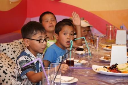 Дети с онкологическими заболеваниями Актау рассказывают о своих мечтах