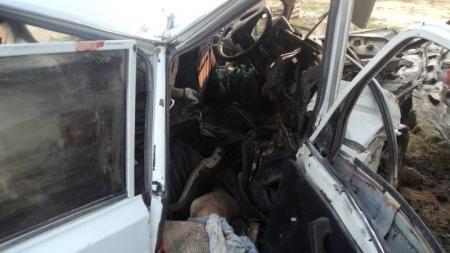 В Бейнеу по вине 23-летнего водителя погибли два пассажира (Добавлены фото)