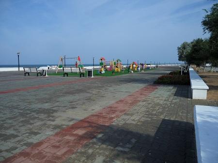 Набережная АКТАУ после ливня (Добавлены фото)