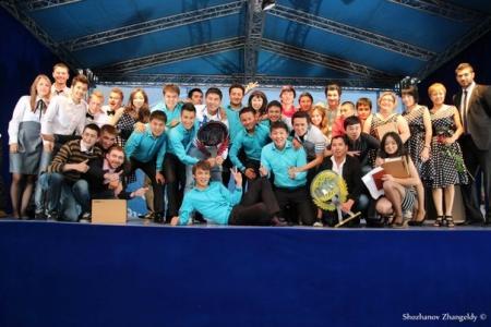 Третье место на музыкальном фестивале КВН «Жас StaR Канаты» заняла сборная Актау-Актобе