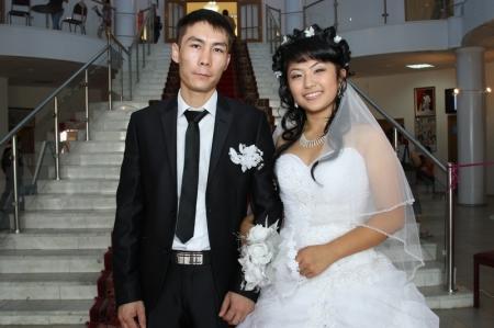 В пятницу, 13-го июля, в Актау было зарегистрировано три брака
