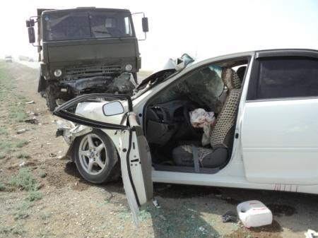 За полгода на дорогах Мангистау погибли 33 человека