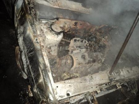 За неделю в Мангистау сгорели две автомашины