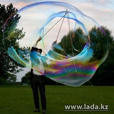 В Актау сегодня будут запускать мыльные пузыри