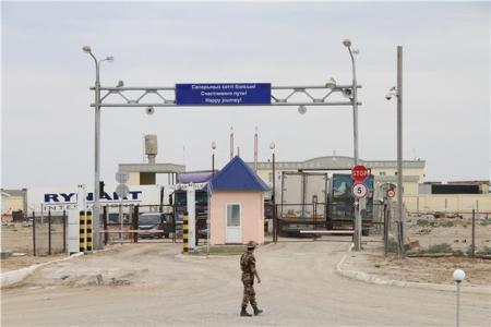 ДТК: Ситуация на автопереходе «Тажен» на казахстанско-узбекской границе стабилизовалась