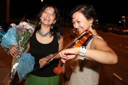 Музыканты Актау вернулись домой с фестиваля в Италии