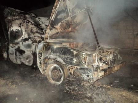 В Мангистау за последнюю неделю сгорели три автомашины