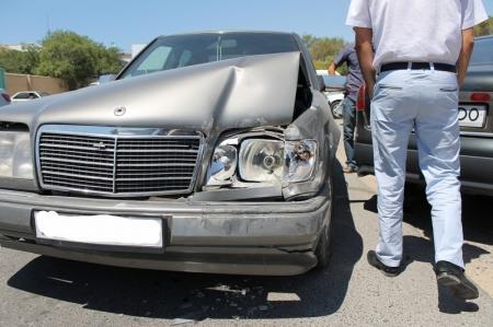 В 23 микрорайоне Актау произошла авария