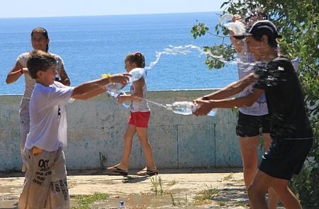 В Актау прошла «водная битва»