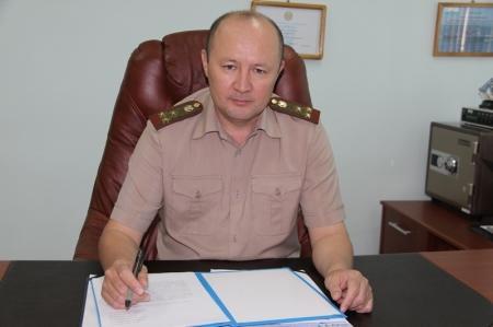 Сагынтай Рашкалиев: В войсковых частях актауского гарнизона отмечен рост преступности