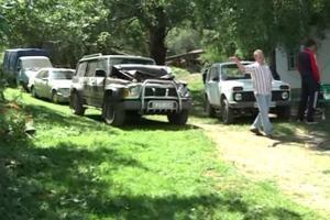 Под Алматы на месте убийства 11 человек найден автомобиль с отпечатками пальцев
