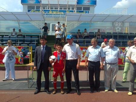 Курыкские футболисты стали серебряными призерами турнира «Былгары доп» в Карагандинской области