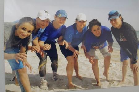 Актауские спортсменки готовятся к чемпионату мира по пляжной борьбе