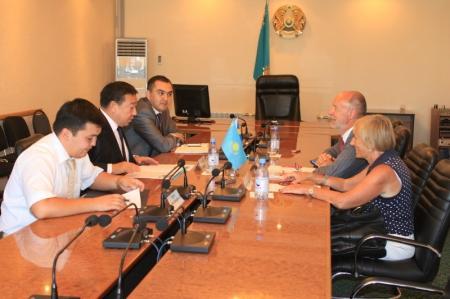 Актау посетил временный поверенный в делах посольства Швеции в Казахстане