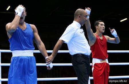 Актауский боксер Адильбек Ниязымбетов пробился в полуфинал Олимпиады 2012