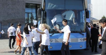 Автобус инноваций приедет в Актау 29 августа